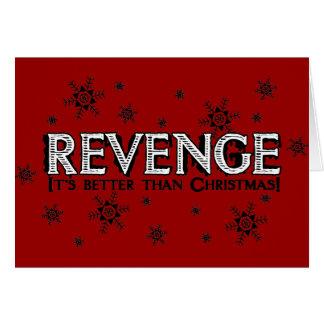 Revenge it's Better than Christmas Card