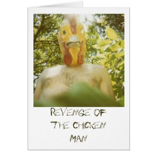 Revenge of the Chicken Man Card
