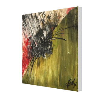 """Revenge"" Original Abstract Painting Canvas Print"