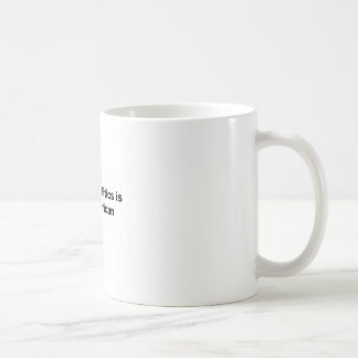 Revenge Politics is Anti-American Coffee Mug