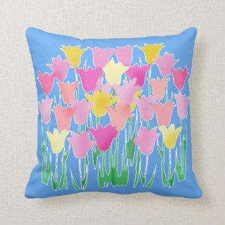 Rêver de l'art de tulipe d'abrégé sur ressort oreillers
