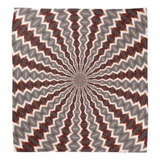 Reverberation Kaleidoscope Pattern Bandanna