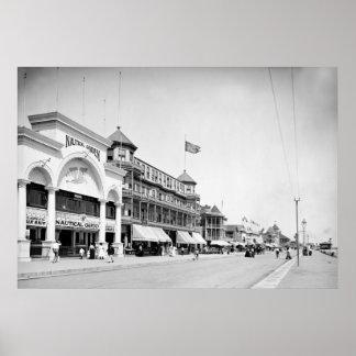 Revere Beach, Mass., 1905 Poster