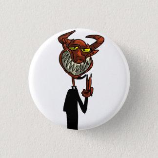 Reverend Beelzebub 1 Inch Round Button