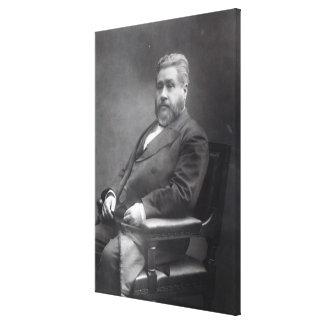 Reverend Charles Haddon Spurgeon Canvas Print