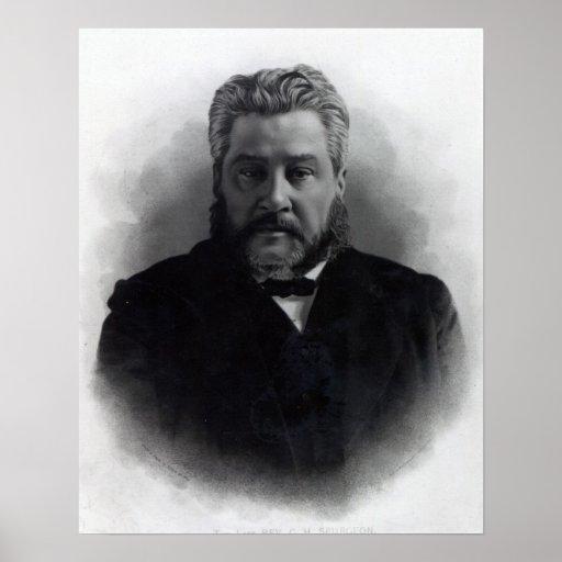 Reverend Charles Haddon Spurgeon Print