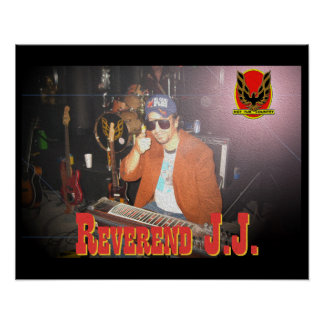 Reverend JJ Tub Poster