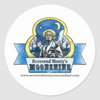 Reverend Monty Sticker