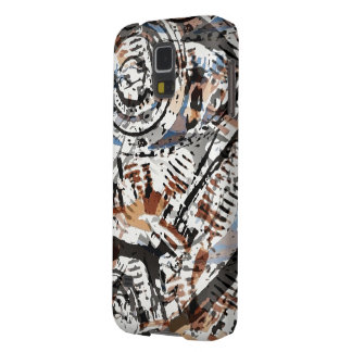 Reverse Abstract V-Twin Galaxy S5 Cover