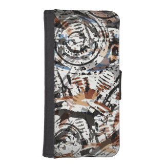 Reverse Abstract V-Twin iPhone 5 Wallets