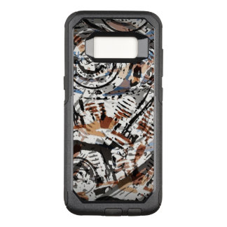 Reverse Abstract V-Twin OtterBox Commuter Samsung Galaxy S8 Case