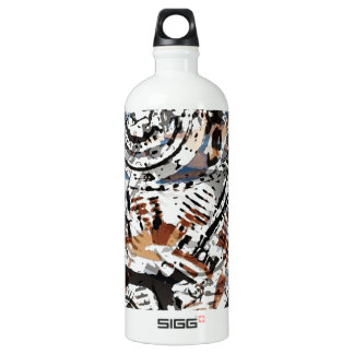 Reverse Abstract V-Twin SIGG Traveler 1.0L Water Bottle