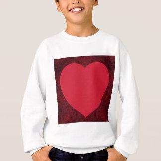 Reverse Knitted Heart Feb 2013 Sweatshirt