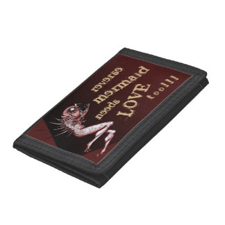 Reverse mermaid needs love wallet
