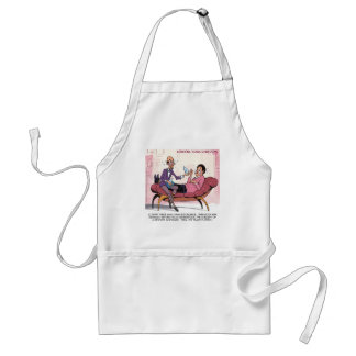 Reverse Mortgage Therapy Funny Standard Apron