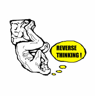 Reverse thinking photo sculptures