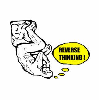 Reverse thinking photo sculptures