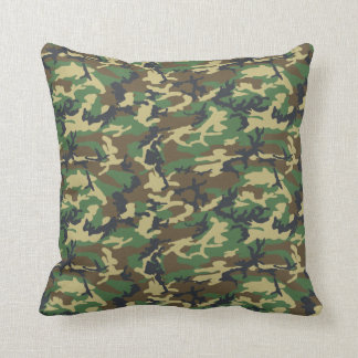 Reversible Camouflage PIllow Desert Sand and Green