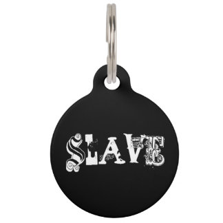 Reversible Collar Tag - Slave