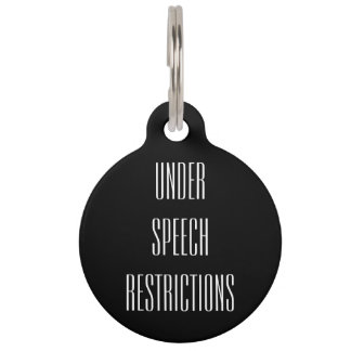 Reversible Collar Tag - Under Speech Restrictions