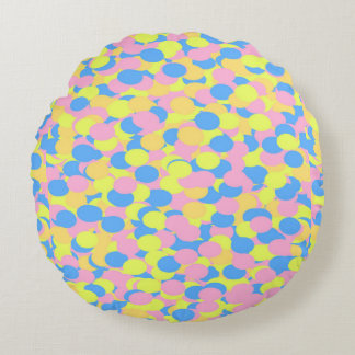 Reversible Confetti & Pink Throw PIllow