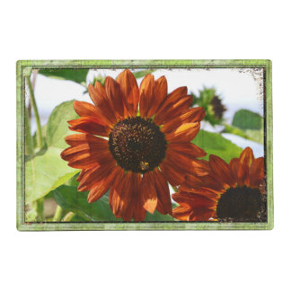 Reversible Flower Placemat Laminated Placemat