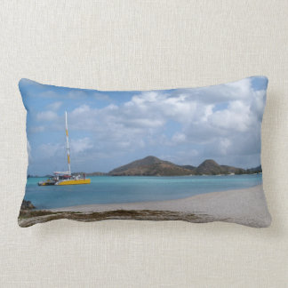 Reversible Scenic Images in Antigua Pillow