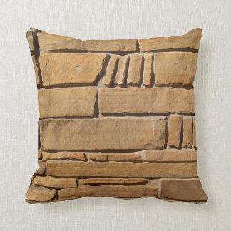 Reversible Tan Stones Pillow