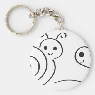 Revi18a Basic Round Button Keychain