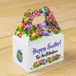 Revised Bunny Easter Container - See Back Favor Box