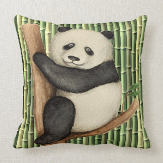Revised Precious Panda Pillow - See Back