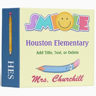 Revised School Smile Binder - SRF