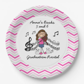 REVISED Stick Figure Violin Player Paper Plates