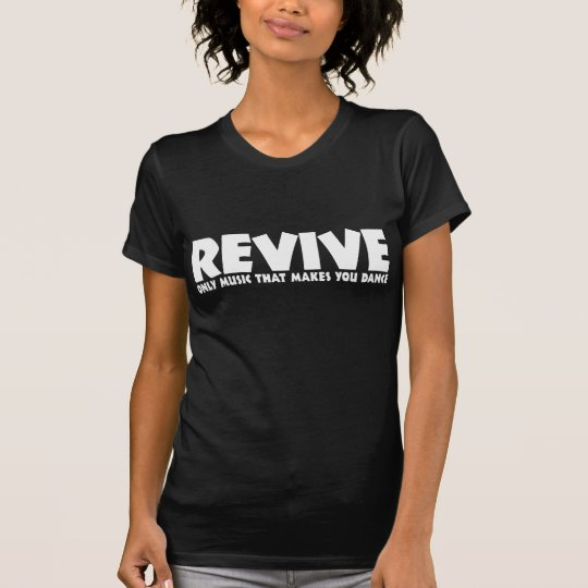 Revive Tshirt Black Ladies Petite