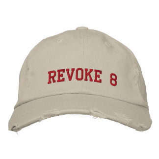 REVOKE 8 EMBROIDERED HAT