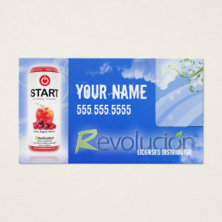Mlm business cards business card printing zazzle ca revolucion distributor business card colourmoves Gallery