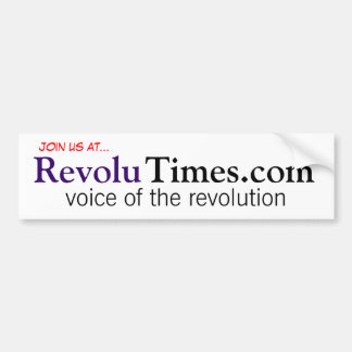 RevoluTimes Bumper Sticker