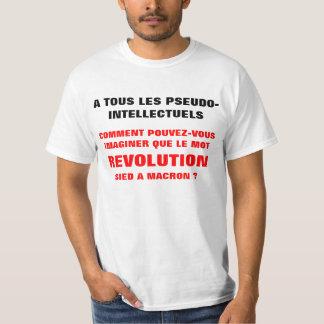 REVOLUTION and MACRON?? tee-shirt T-Shirt