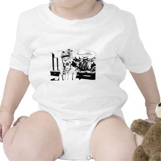 Revolution black and white t shirt