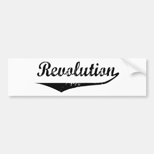 Revolution Bumper Stickers