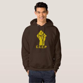 Revolution CCCP Fist Men's Basic Hooded Sweatshirt