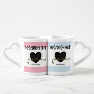 Revolution Child Coffee Heart Cups Mugs