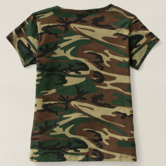 Revolution Child, Cross' Camouflage T-shirt shirt