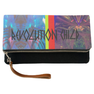 Revolution Child, Uranus & Oracle' Clutch Purse