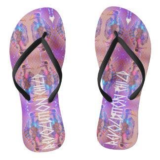 Revolution Child, Uranus & Oracle' Flip flop Shoe