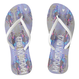 Revolution Child, Uranus & Oracle' Flip flop Shoe