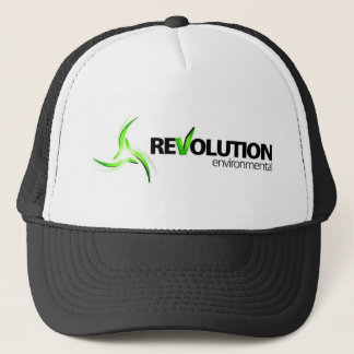 Revolution Environmental Base Logo Trucker Hat