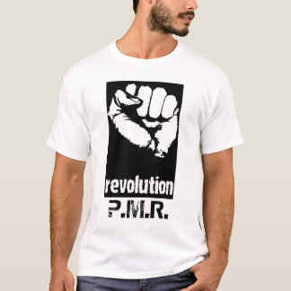 revolution_fist, P.M.R. T-Shirt