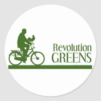 Revolution Greens Classic Round Sticker