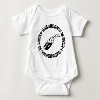 REVOLUTION IS HERE BABY BODYSUIT